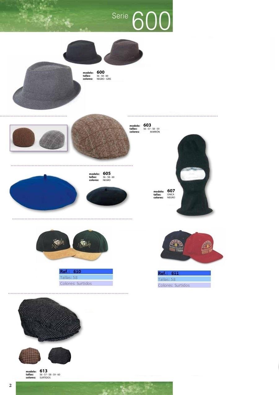gorras y sombreros gorras baratas bufandas y guantes CATALOGO INVIERNO -page-002