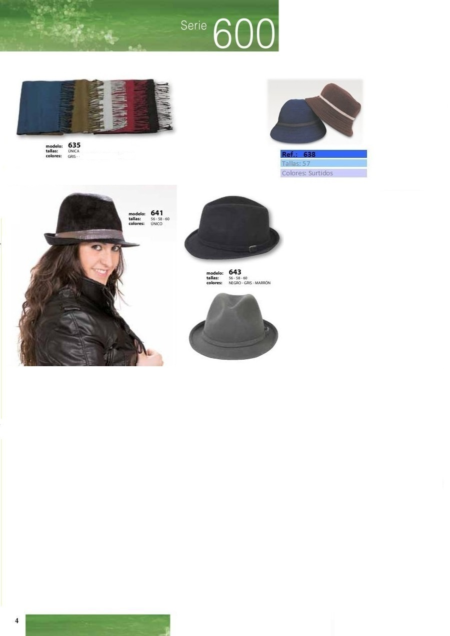 gorras y sombreros gorras baratas bufandas y guantes CATALOGO INVIERNO -page-004