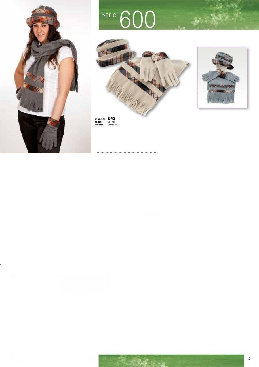 gorras y sombreros gorras baratas bufandas y guantes CATALOGO INVIERNO -page-005