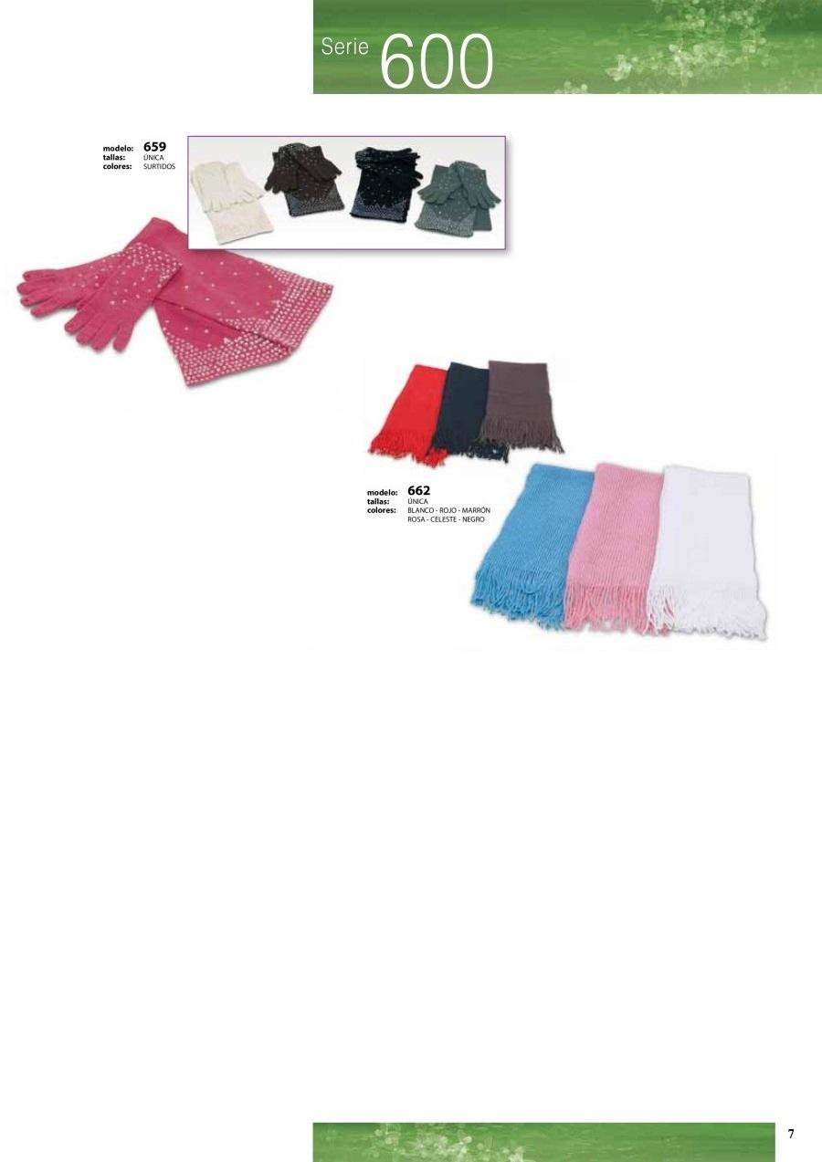 gorras y sombreros gorras baratas bufandas y guantes CATALOGO INVIERNO -page-007