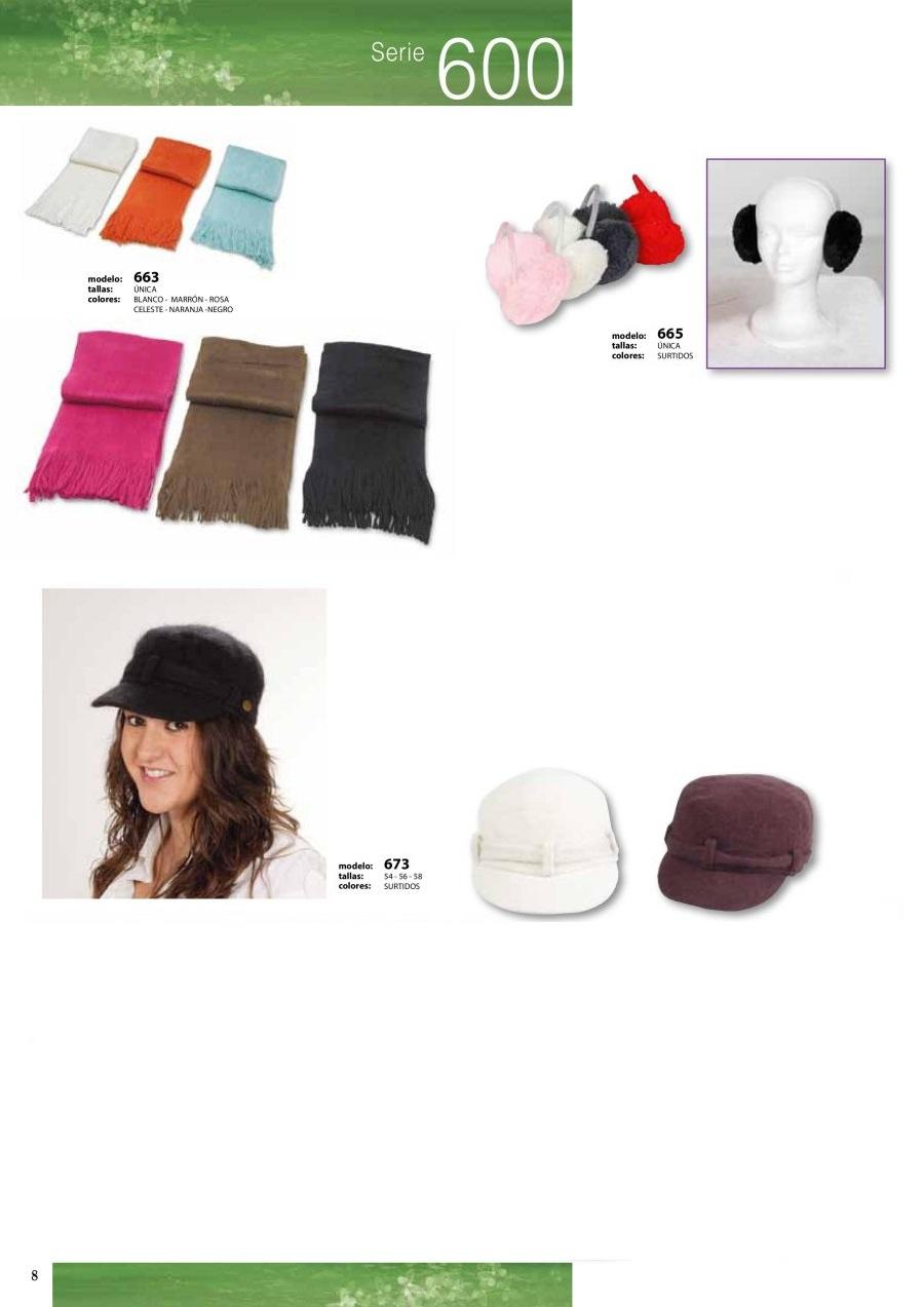 gorras y sombreros gorras baratas bufandas y guantes CATALOGO INVIERNO -page-008