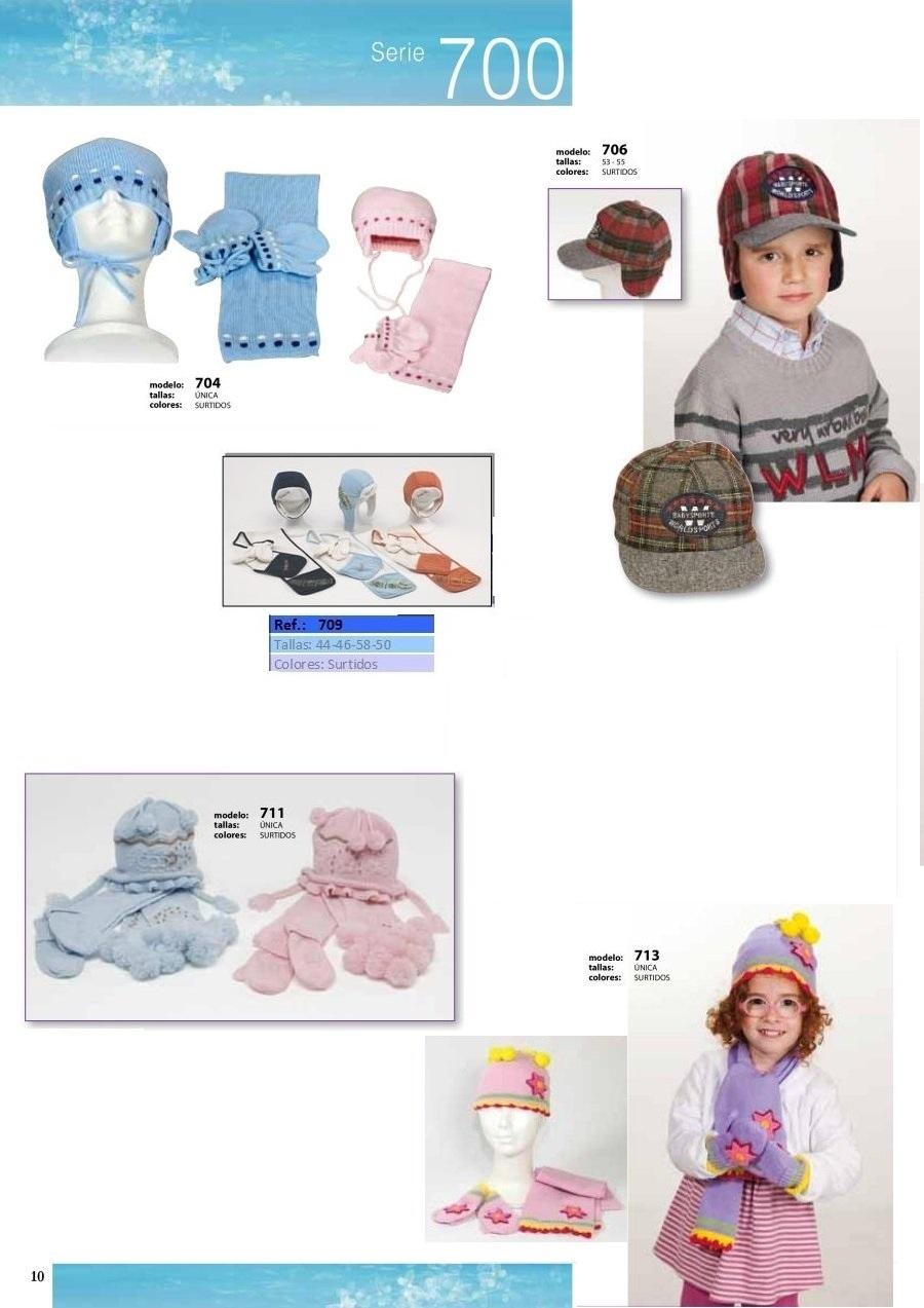gorras y sombreros gorras baratas bufandas y guantes CATALOGO INVIERNO -page-010