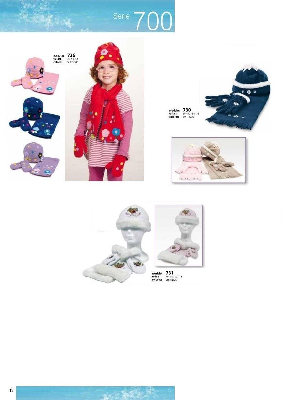 gorras y sombreros gorras baratas bufandas y guantes CATALOGO INVIERNO -page-012