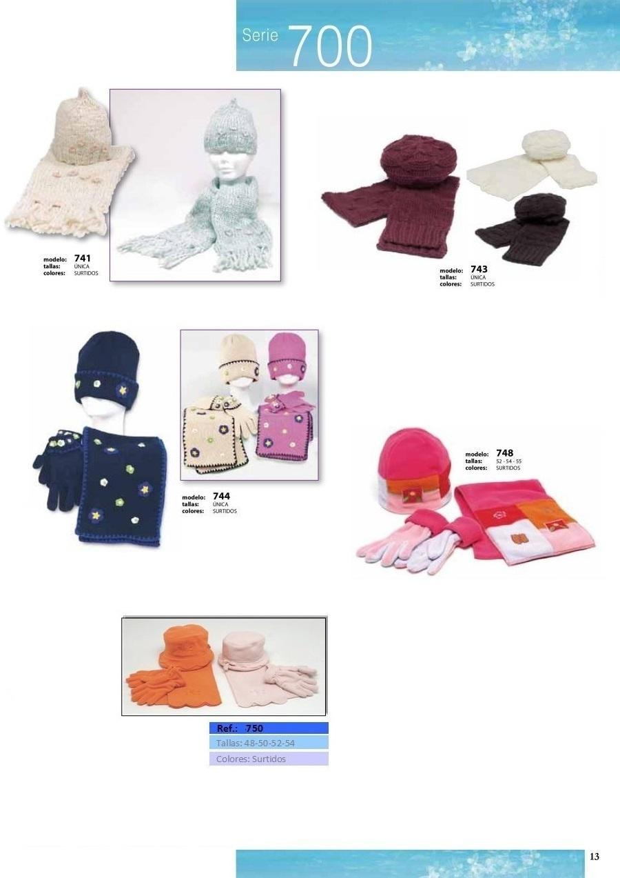 gorras y sombreros gorras baratas bufandas y guantes CATALOGO INVIERNO -page-013