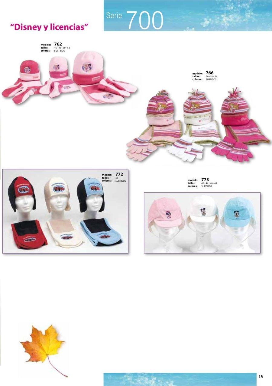 gorras y sombreros gorras baratas bufandas y guantes CATALOGO INVIERNO -page-015