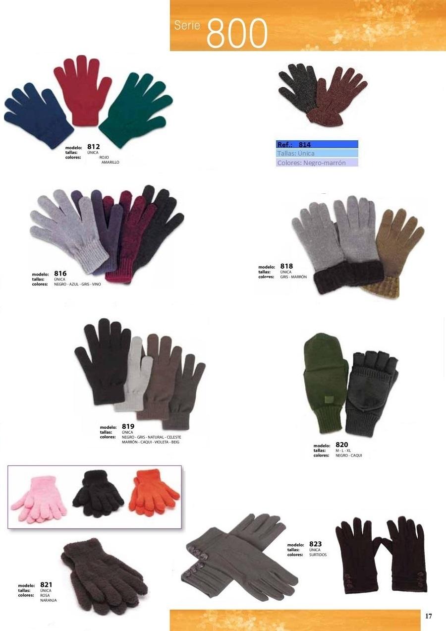 gorras y sombreros gorras baratas bufandas y guantes CATALOGO INVIERNO -page-021